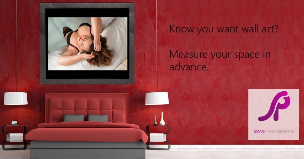 displaying your boudoir portraits