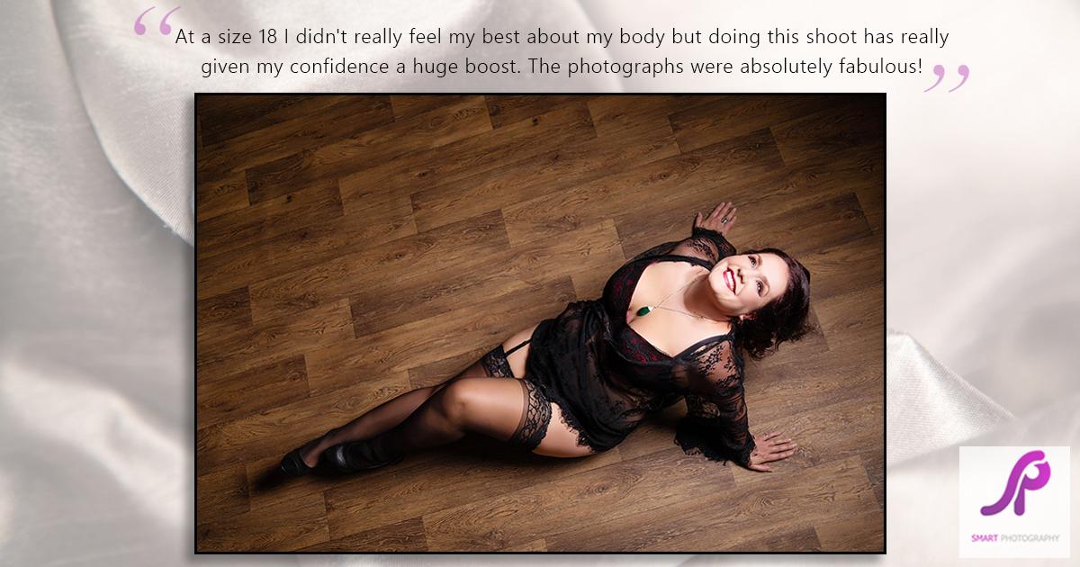 boudoir client testimonial